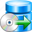 backup, data, database, disk, restore, server, storage icon