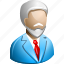 father, old man, patient, pension, retired, retiree, retirement icon