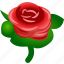 flower, plant, rose, splash, wind icon
