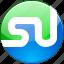 communication, logo, media, network, social, stumble upon, stumbleupon icon