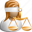 justice, law, measure, scale, themis, thesis, weight icon
