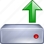 aloft, arrow, charge, cloud, endways, endwise, swap, swop, up, upload, upward, upwards icon