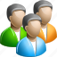 group, man, user icon