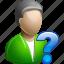 male, man, status, user icon