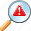 alert, danger, errors, eye, view, view problems, warning icon