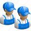 construction, hard, hat, worker, workers icon