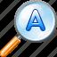 auto, find, search, zoom icon