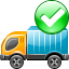 automobile wagon, autotruck, base, booking, buzz, commercial vehicle, commission, google, indent, lorry, motor, order, tracking icon