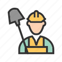 coal, day, labor, labour, work, worker, workers icon