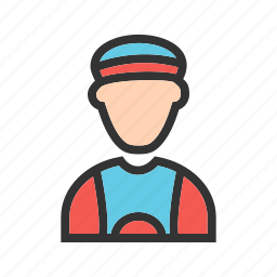 athlete, cycling, fitness, male, man, sport, training icon