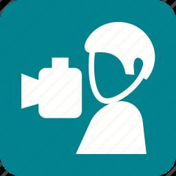 camera, digital, lens, photo, photographer, photography, technology icon