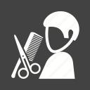 barbershop, hair, haircut, hairdresser, hairdressing, salon, scissors