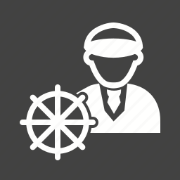 boat, bridge, captain, navigation, officer, sailor, ship icon
