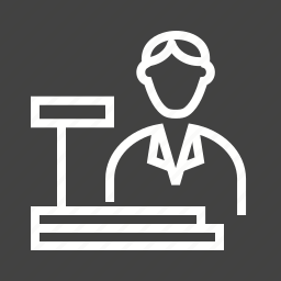 bank, bookstore, cashier, checkout, machine, sales, transaction icon