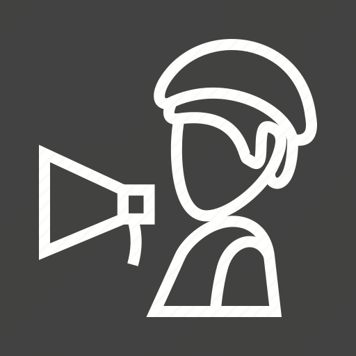 Background, director, film, movie, person, production, video icon - Download on Iconfinder