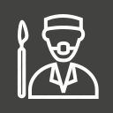 doctor, mask, medicine, nurse, surgeon, surgery, surgical icon