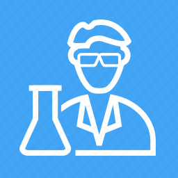 lab, laboratory, medical, microscope, research, science, scientist icon