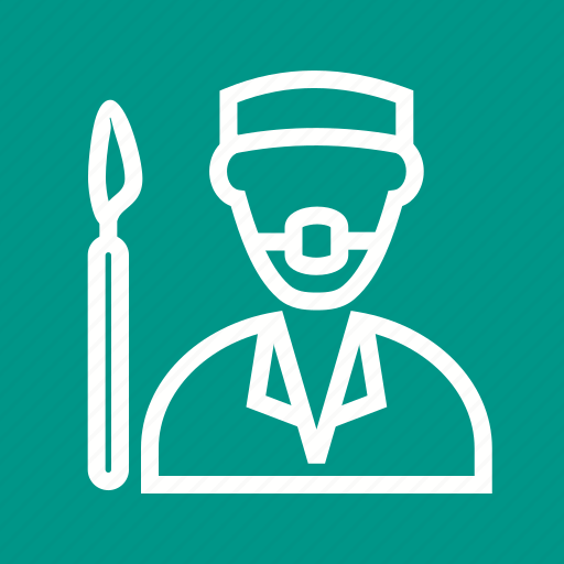 Doctor, mask, medicine, nurse, surgeon, surgery, surgical icon - Download on Iconfinder