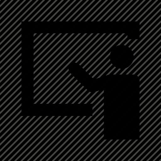 instructor, professor, teacher, teaching, tutor icon