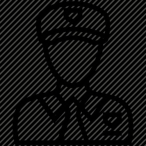 army captain, army major, captain, pilot, sergeant icon