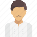 avatar, chef, job, profession, profile, sous, user icon