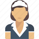 avatar, cleaning, job, lady, profession, profile, user icon