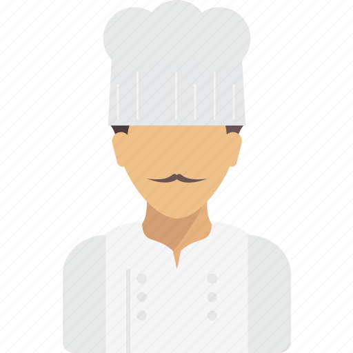avatar, chef, job, profession, professions, profile, user icon