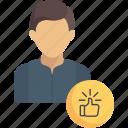 jobs, like, media, avatar, social, professional, user icon