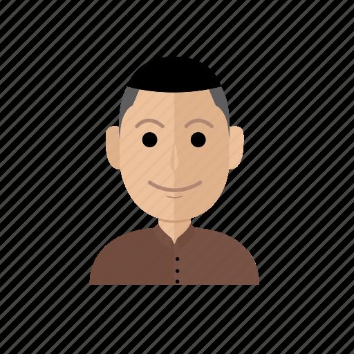 avatar, job, man, people, profession, profile, teacher icon