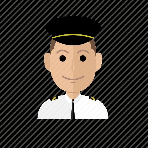 avatar, business, job, man, people, pilot, profession icon