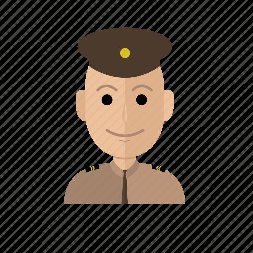 avatar, job, male, man, people, police, profession icon