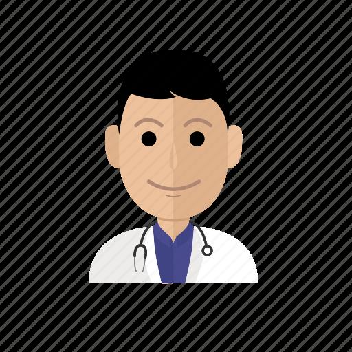 avatar, doctor, job, male, man, people, profession icon