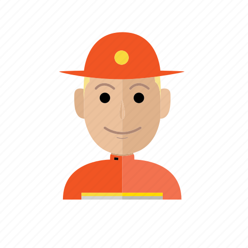 avatar, firefighters, job, man, people, person, profession icon