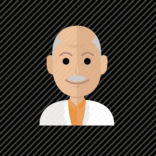 avatar, job, man, people, profesor, profession, profile icon