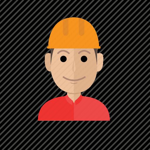 avatar, business, contractor, job, man, person, profession icon