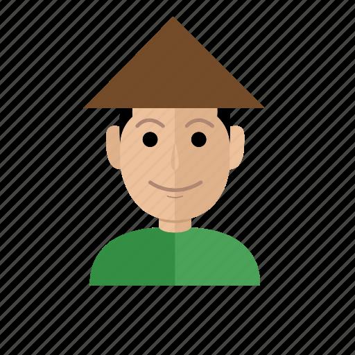 avatar, business, fisherman, job, man, people, profession icon