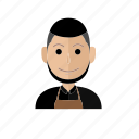 avatar, barista, business, job, man, people, profession icon