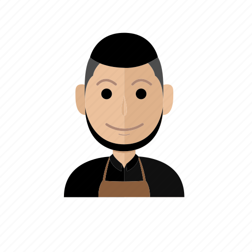 avatar, barista, business, job, man, people, profession icon