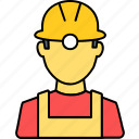 architect, architecture, builder, construction, engineer, work, worker icon