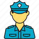 guard, security, police, security guard, avatar, police officer, policeman
