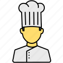 avatar, cap, chef, cook, hat, kitchen, restaurant icon