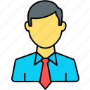 boss, businessman, businessmen, client, employee, manager, salesman icon