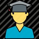 graduate, college, graduation, student, education, study, university