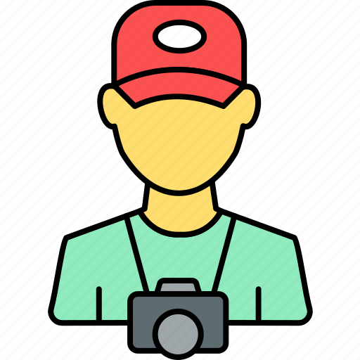 avatar, camera, cameraman, paparazzi, photographer, photography, profile icon