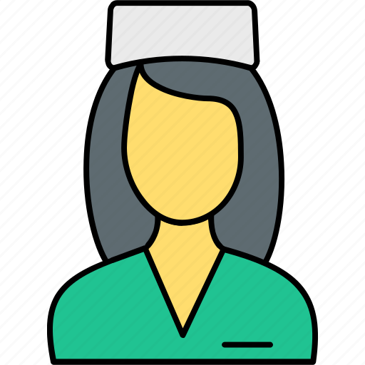 avatar, care, health, hospital, medical, nurse, sister icon