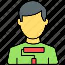 whitewash, painter, man, person, male, user, avatar