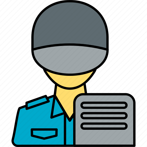 avatar, guard, person, profile, security, security guard, watchman icon