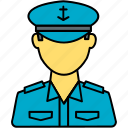 inspector, officer, police, police officer, traffic, traffic officer, transport icon