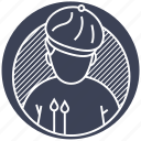 baker, bakery, chef, cuisine, kitchen icon