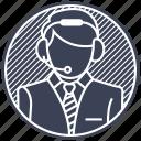 agent, callcenter, callcenteragent, caller, secretagent icon